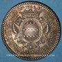 Münzen Paris. Louis Bazile de Bernage, prévôt des marchands. Jeton argent 1746