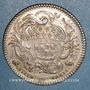 Münzen Paris. Louis Bazile de Bernage, prévôt des marchands. Jeton argent 1754