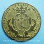 Münzen Paris. Nicolas Desmaretz. Jeton cuivre 1712