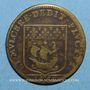 Münzen Paris. Prévôts des marchands. A. de Seve. Jeton cuivre 1659