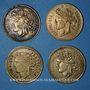 Münzen Pontorson (50). Produit J. Vrillac. Lot de 4 jetons publicitaires