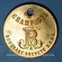 Münzen Reims (51). Bley Frères, Champagne Bouchage Breveté. Jeton publicitaire