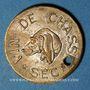 Münzen Reims (51). Ch Benoit Fils, Vin de Chasse Sec. Jeton publicitaire