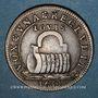 Münzen Secrétaires du Roi. Jeton cuivre 1654