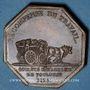 Münzen Toulouse, Société d'Agriculture, bronze