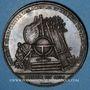 Münzen Valenciennes, Société d'Agriculture, des Sciences et des Arts, jeton cuivre. Poinçon : pipe
