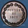 Münzen Versailles, Union versaillaise du commerce & de l'industrie, jeton cuivre poinçon: corne d'abondance