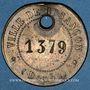 Münzen Ville de Besançon. Jeton laiton 27,5 mm