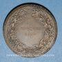 Münzen Algérie. Alger. Congrès de l'Union Nationale des Officiers de Réserve. 1930. Médaille bronze
