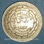 Münzen Algérie. Commémoration de la victoire française de 1857. Médaille de propagande. Cuivre arg. 27 mm.