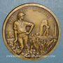 Münzen Algérie. Compagnie Algérienne. Médaille bronze. 42,2 mm.