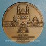 Münzen Algérie. Mgr. A. F. Leynaud, archevêque d'Alger. 1950. Médaille bronze. 59 mm. Gravée par R.B. Baron