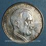 Münzen Allemagne. Adolph Hitler (1889-1945). Médaille argent. 30,5 mm