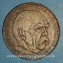 Münzen Allemagne. Centenaire de la fondation de l'empire allemand, 1971. Médaille argent. 40 mm.