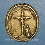 Münzen Arras. Erection du nouveau calvaire. 1738. Médaille bronze
