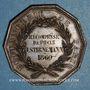 Münzen Boulangerie de Paris, 1860. Médaille cuivre 31 mm