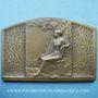 Münzen Centenaire des Etablissements Flageollet à Zainvillers (Vosges) 1830-1930 plaquette br 49,2 x 74,2mm