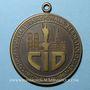 Münzen Congrès international de dermatologie. Munich 1967. Médaille en bronze. Avec anneau de suspension