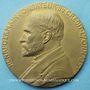 Münzen Crédit Lyonnais. 25 ans de services. Médaille en bronze. 80,5 mm. Gravée par Ch. Pillet