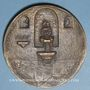 Münzen Dr Henri Lentulo, dentiste (1889-1981). 1956. Médaille bronze