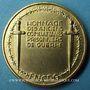 Münzen Fédération Nationale des Combattants Prisonniers de Guerre. Médaille en bronze doré. 46,6 mm