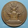 Münzen Grande-Bretagne. Anne (1702 -1714). Médaille cuivre