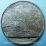 Münzen Inauguration du Canal de Suez. 1869. Médaille en étain. 49,6 mm. Gravée par A. Restélli