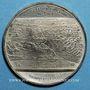 Münzen Inauguration du Canal de Suez, 1869. Médaille étain. 49,5 mm.