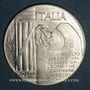 Münzen Italie. 20 lire 1943 Mussolini. Argent. 30,5 mm