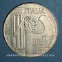 Münzen Italie. 20 lire 1945 Mussolini. Argent. 30,5 mm