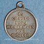 Münzen Louis Philippe 1er. Médaille de la Charte de 1830.  Médaille argent
