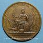 Münzen Louis XIV. Bataille de Fleurus. Médaille bronze 1690