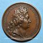 Münzen Louis XIV. Bataille de la Marsaille. Médaille bronze 1693