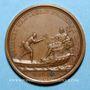 Münzen Louis XIV. Distinction des marins. Médaille bronze 1693