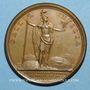 Münzen Louis XIV. La France toujours victorieuse. Médaille bronze 1697