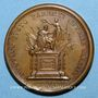 Münzen Louis XIV. Mort de Louis XIII. Médaille bronze 1643