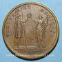 Münzen Louis XIV. Paix de Ryswick. Médaille bronze 1678