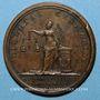 Münzen Louis XIV. Paix de Westphalie. Médaille bronze 1648