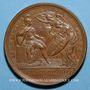 Münzen Louis XIV. Prise d'Ypres. Médaille bronze 1744
