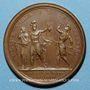 Münzen Louis XIV. Prise de Bouchain. Médaille bronze 1676