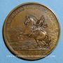 Münzen Louis XIV. Prise de Brisach. Médaille bronze 1703