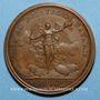 Münzen Louis XIV. Prise de Phillipsbourg. Médaille bronze 1644