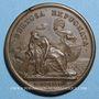 Münzen Louis XIV. Prise de Tortosa. Médaille bronze 1648