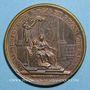 Münzen Louis XIV. Régence d'Anne d'Autriche. Médaille bronze 1643