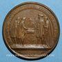 Münzen Louis XIV. Renouvellement de l'Alliance avec les Suisses. Médaille bronze 1663