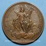 Münzen Louis XV. Régiment de la Calotte. Médaille bronze