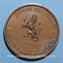 Münzen Lyon. Société protectrice des animaux (fondée en 1854). Médaille cuivre