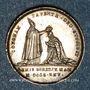 Münzen Sacre du roi Charles X à Reims. 29.5.1825. Médaille argent