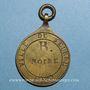 Münzen Seurre (Côte d'Or, Bourgogne). Plaque de métier. 1832. Bronze