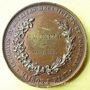 Münzen Société de Secours mutuels - Maison J. Piat. 1863. Médaille en bronze. 45,8 mm
